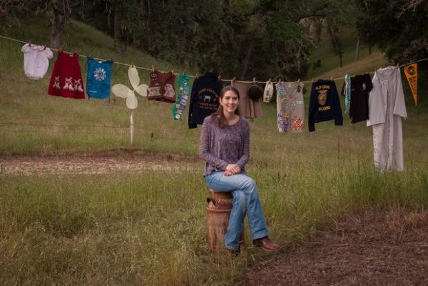 Alexis Sr Pict clothes line