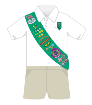 junior sash