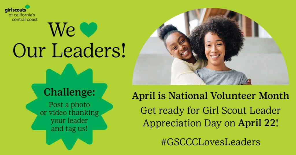 Girl Scout Leader Appreciation Day
